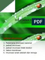 BAB II Jadwal Imunisasi Up