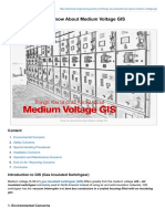 Things You Should Know About Medium Voltage GIS