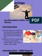 arab spring presentation