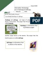 Hardcopy & Softcopy