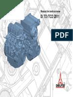 Manual de Instruccion DEUTZ-D2011