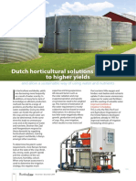 Dutch Horticultural Solutions Contribute to Higher Yields