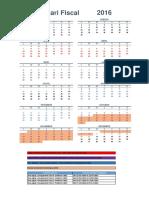 Calendario Fiscal 2016