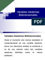 Variables Aleatorias Bidimensionales
