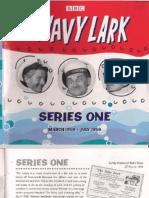 Navy Lark Series 1 Booklet