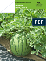 Vegetable Production Guide for Commercial Growers, 2014-15 U.K.