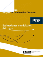 Estimaciones municipales