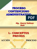 Inicio Del Proceso Contencioso Administrativo