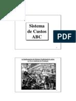 Apostila Contabilidade Custos ABC