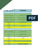 Recruitment Drive Calendar 2016.Xlsx (1)