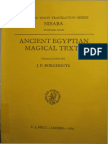 Ancient Egyptian Magical Texts