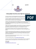 Coburg High School Becomes High Rise Development