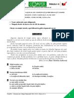Subiect Si Barem LimbaRomana EtapaN ClasaII 14-15