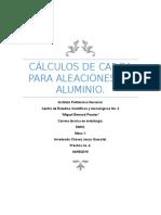 Cálculos de carga para aleaciones de aluminio.docx