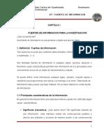 Fuentes de Informaciòn para la Investigaciòn TRABAJO 3.doc