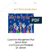 Classroom Mgmt Plan