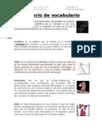 1. Glosario de biología