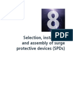 Selection, installation and assembly of surge protective devices (SPDs)