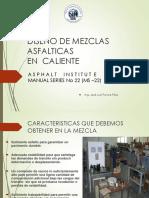 Diseño de Mezclas Asfálticas en Caliente
