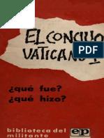 PIÑERA, B., El Concilio Vaticano II. Que Fue. Que Hizo