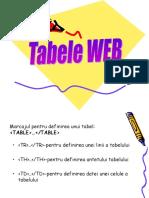 5.Tabele Web