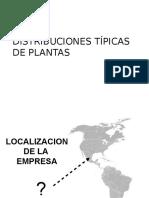 Distribuciones de Plantas