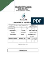 Programa Biomatematica
