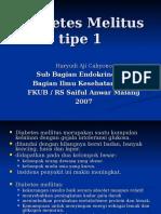 Kul Diabetes Melitus Tipe 1