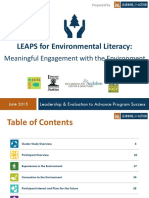 LEAPS Meaningful Engagement Cluster Study