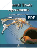 Bilateral Trade Agreements - Issues and Concerns for India