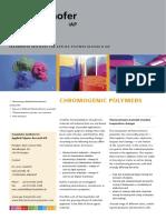 Chromogenic Polymers