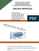 Analisis Matricial
