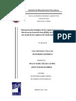 Interpretación Geológica de Los Registros de Imágenes Eléctricas de Pared de Pozo (FMI) y de Echados (HDT) Con Ayuda de Los Registros de Litodensidad y Neutrón