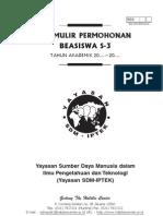 Formulir S3 - 2010
