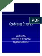 Carlos Reynoso - Antropologia Del Desierto - Condiciones Extremas