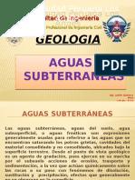Geologia Clase x - Aguas Subterraneas