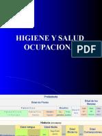 Higiene y Salud Ocupacional - Generalidades