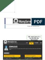 Wamp Server Guia Instalación