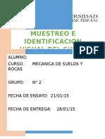 Primer Informe SUELOS