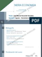 Ingenieria Economica Unidad 1 Version Alumno