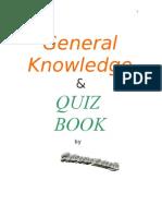 General Knowledge & Quiz Book - By Subroto Mukerji