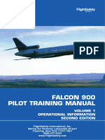 Falcon 900 Pilot Training Manual