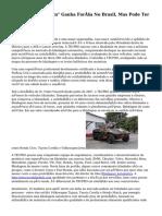 """Blindagem Rápida"" Ganha Força No Brasil, Mas Pode Ter Armadilhas"