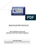 Gill Battery Service Manual