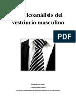 El psicoanálisis del vestuario masculino