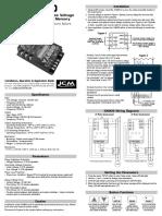 ICM 450 Installation