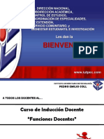 Curso de Induccion Docente - IUTPEC