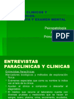 entrevista clinica/psiquiatrica