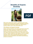 The Benefits of Organic Growing