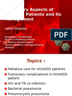Laksmi - Pulmonary Aspect of HIV-AIDS and Its Management